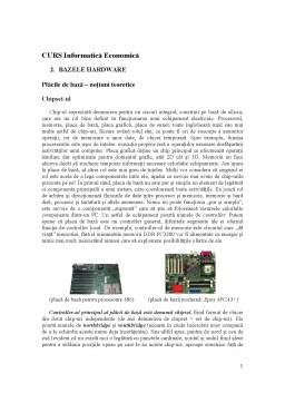 Curs - Bazele Hardware