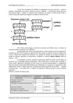 Proiect - Microprocesor