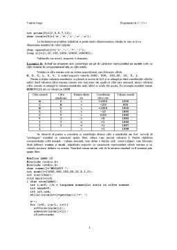 Curs - Programarea Calculatoarelor - 5 -