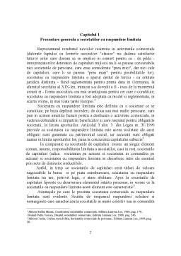 Referat - Administratorii Societatii Comerciale cu Raspundere Limitata