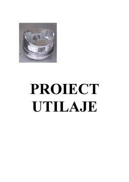 Proiect - Pompă cu Piston cu Simplu Efect