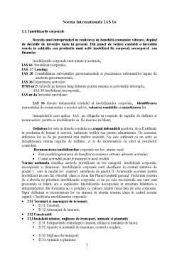 Curs - Norma Internationala Ias 16