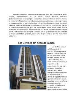 Referat - Arhitectura - Locuinta Colectiva