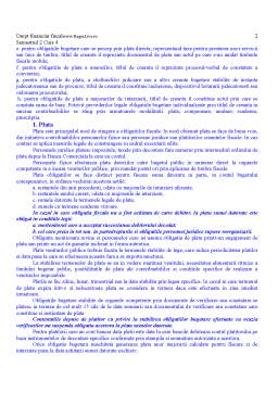 Curs - Drept Financiar - Procedura Fiscala