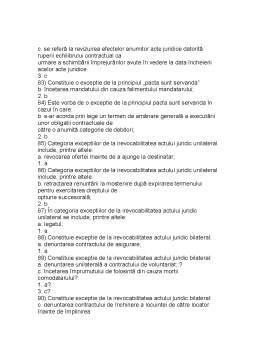 Notiță - Drept Civil Parte Generala