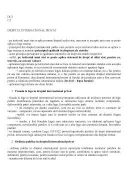 Curs - Dreptul Comertului International
