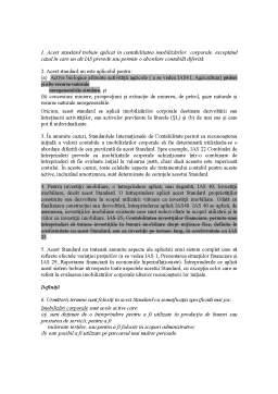 Curs - Standardul International de Contabilitate IAS 16 (Revizuit 1998)