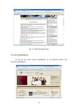 Proiect - Adaptarea Soluțiilor Informaționale Financiar Contabile la Mediul Internet
