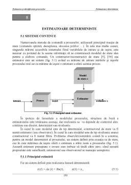 Curs - Estimatoare Deterministe
