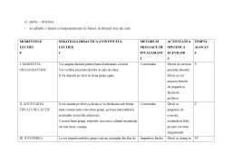 Proiect - Proiect Didactic Aplicativ