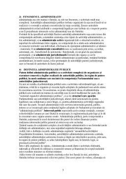 Notiță - Drept Administrativ