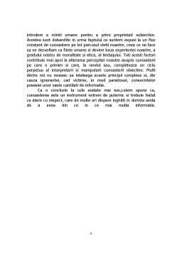 Curs - Obiectiv si Subiectiv in Cunoastere