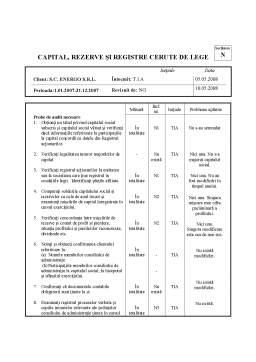 Proiect - Dosar Audit