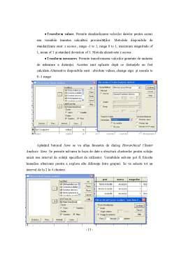 Proiect - Analiza Componentelor Principale