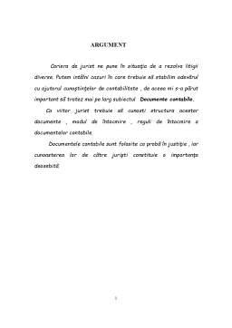 Referat - Documente Contabile - Notiune, Importanta, Clasificare