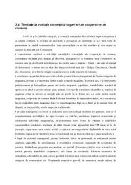 Proiect - Evoluții și Tendințe în Comerțul Asociat și Integrat
