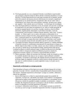 Curs - Ecofiziologie Animala