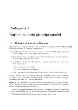 Curs - Criptografie
