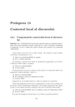 Curs - Lingvistica si Limbaje