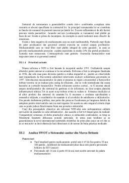 Referat - Sistemul de Asigurari de Sanatate din Romania vs Sistemul de Asigurari de Sanatate din Marea Britanie