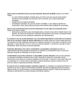 Curs - Manoperele Frauduloase Comise asupra Marfurilor Alimentare - Directii de Identificare si Prevenire