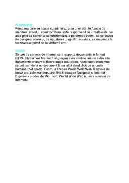 Referat - 50 de Termeni Esentiali de Internet
