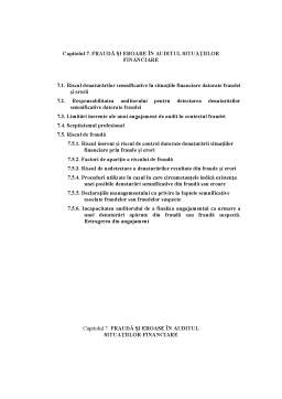 Curs - Auditarea Agentilor Economici