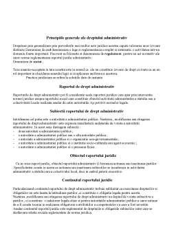Curs - Drept Administrativ - Introducere în Drept Administrativ