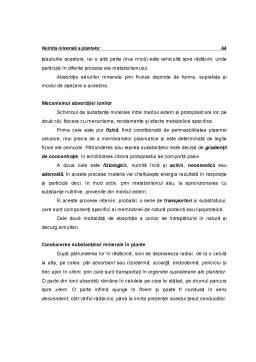 Curs - Ecofiziologie Vegetala - Capitolul 4