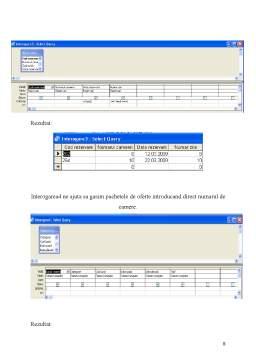 Proiect - Baza de Date in Access - Gestiunea Datelor unui Hotel