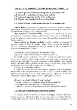 Curs - Dreptul Mediului dupa Legislatia Republicii Moldova