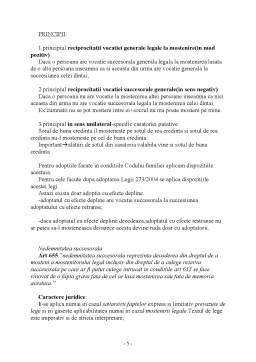 Curs - Dreptul la Mostenire - Curs 3