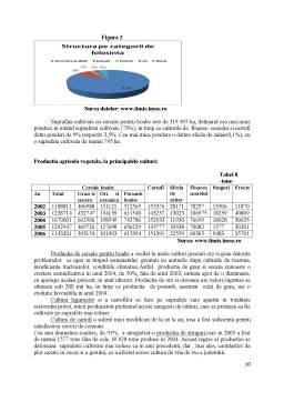Proiect - Economia Agroalimentara si a Mediului - Pozitia Judetului Timis in Cadrul Regiunii 5 Vest