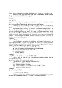 Laborator - Operatori Aritmetici C++