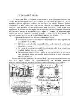 Proiect - Aprate Electrice de Medie si Inalta Tensiune