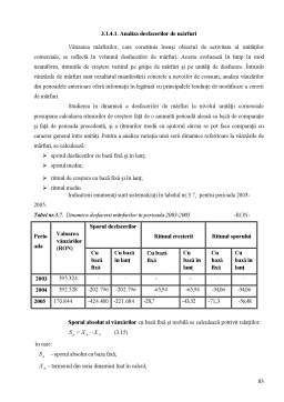 Proiect - Proiectarea unui Flux Informational privind Contabilitatea Stocurilor de Produse si Marfuri - Aurora SA