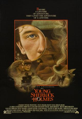 Poster Young Sherlock Holmes
