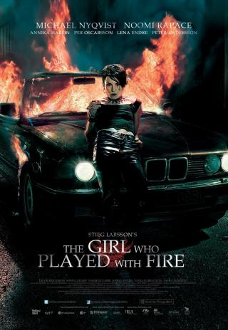 Poster The Girl Who Played with Fire