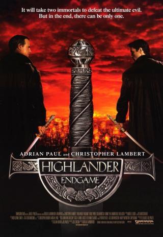 Poster Highlander: Endgame