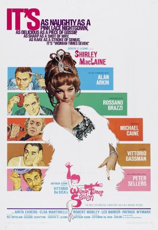 Poster Woman Times Seven