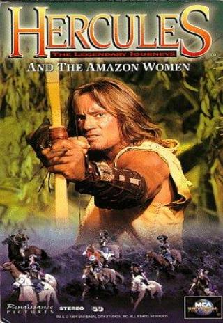 Poster Hercules and the Amazon Women
