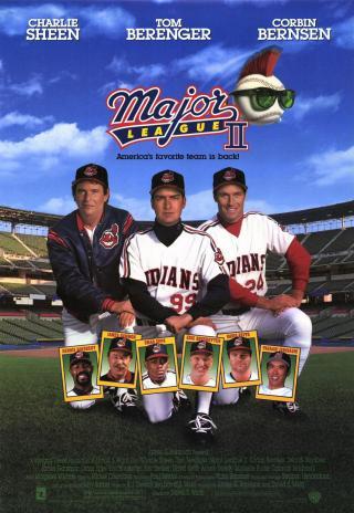 Poster Major League II