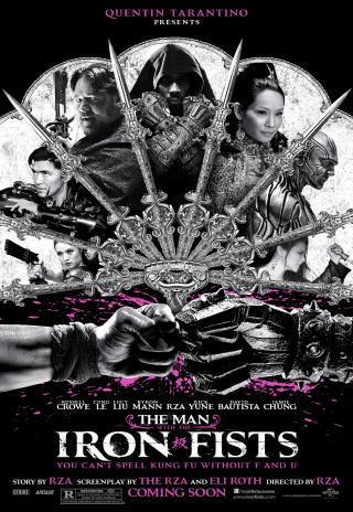 Poster The Man with the Iron Fists