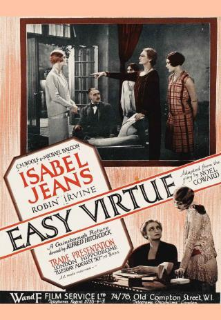 Poster Easy Virtue
