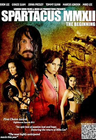 Poster Spartacus MMXII: The Beginning