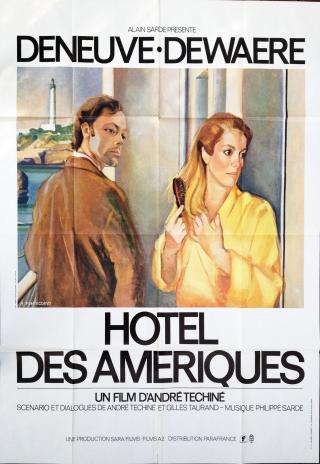 Poster Hôtel des Amériques