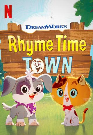 Poster Rhyme Time Town