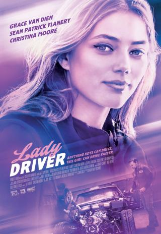 Poster Lady Driver