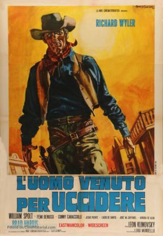Poster Un hombre vino a matar