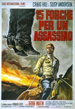 Poster 15 forche per un assassino